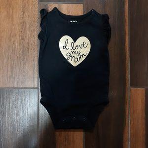 Baby Girl Carters 1 piece bodysuit